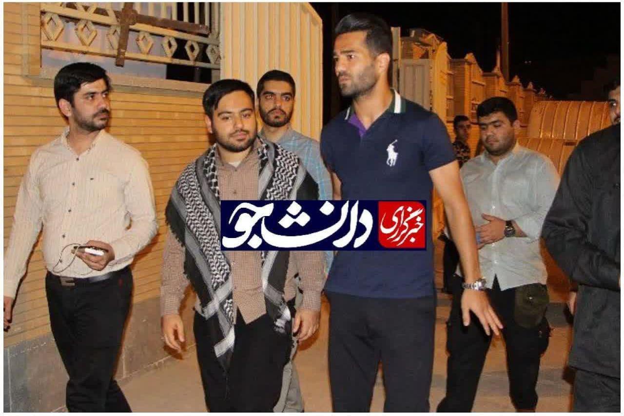 مسعود شجاعی در جمع جهادگران بسیج دانشجویی شهید چمران اهواز حضور یافت