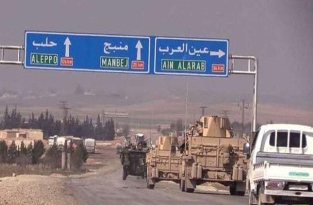 عقب نشینی آخرین گروه شبه نظامیان کرد از منبج سوریه