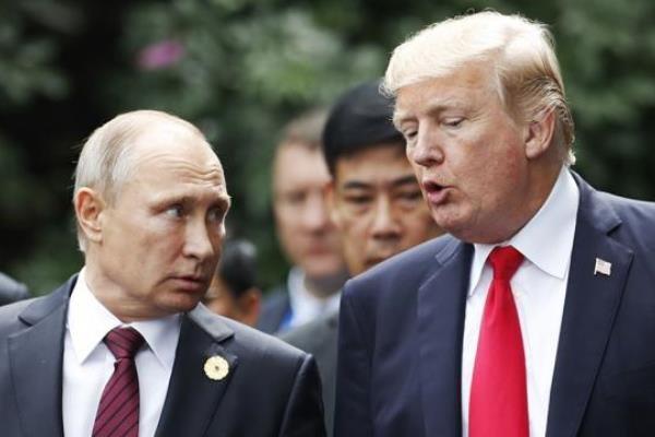 دیدار ترامپ و پوتین آغاز شد