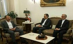 دستیار ارشد ظریف با وزیر خارجه لبنان دیدار کرد