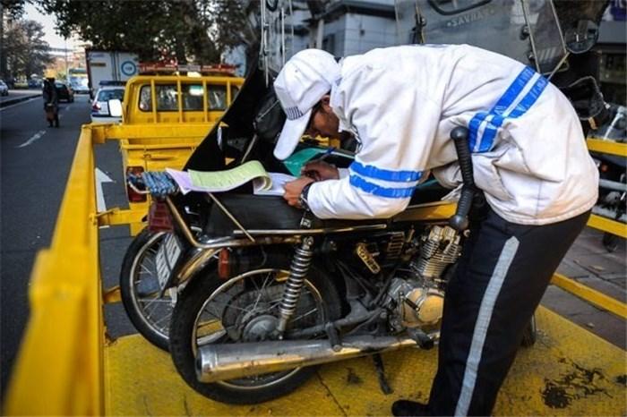 طرح جدید ساماندهی پلاک موتورسیکلت ها/ با پوشاندن پلاک به شدت برخورد می شود