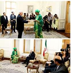 نماینده مقیم برنامه عمران ملل متحد در ایران  با وزیر امور خارجه کشورمان دیدار و گفتگو کرد