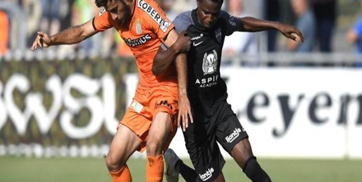 هفته هشتم لیگ بلژیک توقف شارلروا با دو اخراجی و در حضور 23 دقیقهای قلیزاده
