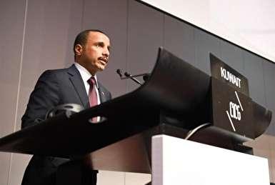 فیلم/ عصبانیت و خروج هیئت اسرائیلی از سخنرانی رئیس مجلس کویت