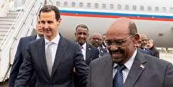 سفر رئیسجمهور سودان به دمشق و دیدار با اسد