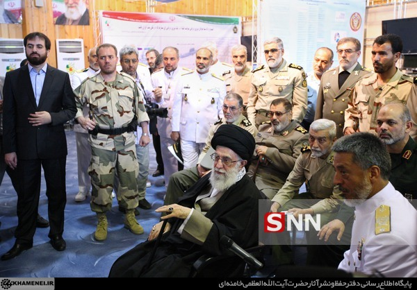 تصویر دروغی که به اسم رهبری در اتاق جنگ منتشر شد