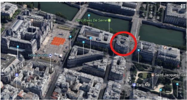 عکس| خانهای که «روحالله زم» گفت در پاریس لو رفت کجا بود؟