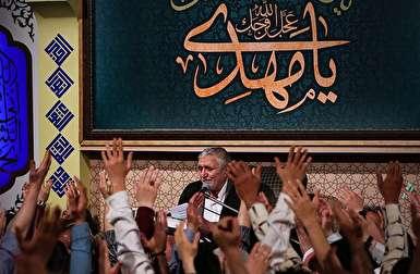 فیلم/ مراسم شب دوم ماه رمضان با نوای حاج منصور ارضی