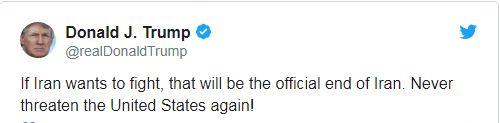 جملات رهبر انقلاب که پس از توئیت دیشب ترامپ خواندنیتر شد