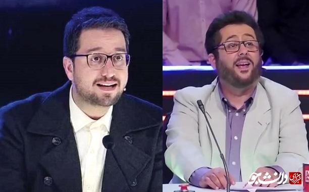 واکنش بشیر حسینی به شوخی با داوران عصر جدید + عکس