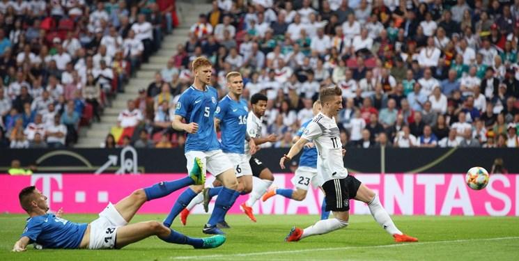 مقدماتی یورو 2020؛ برتری پرگل آلمان، فرانسه و بلژیک؛ برد سخت ایتالیا