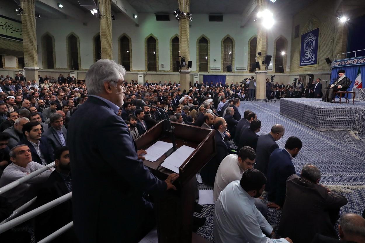 سخنرانی طهرانچی در دیدار با رهبری