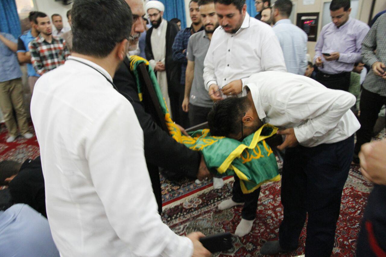 سازمان بسیج دانشجویی میزبان خادمان و حاملان پرچم متبرک حرم مطهر امام رضا (ع) بود