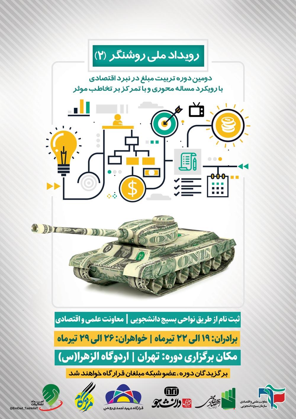 دومین دوره تربیت مبلغ در نبرد اقتصادی در تهران برگزار میشود