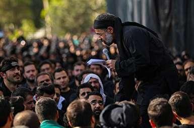تقدیر رهبر انقلاب از برنامه چهارپایه خوانی حاج محمود کریمی