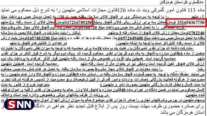 مالهکشی رسانه نزدیک به علی لاریجانی روی قاچاق بزرگ / خبرآنلاین، رسانه یا بنگاه ....؟!
