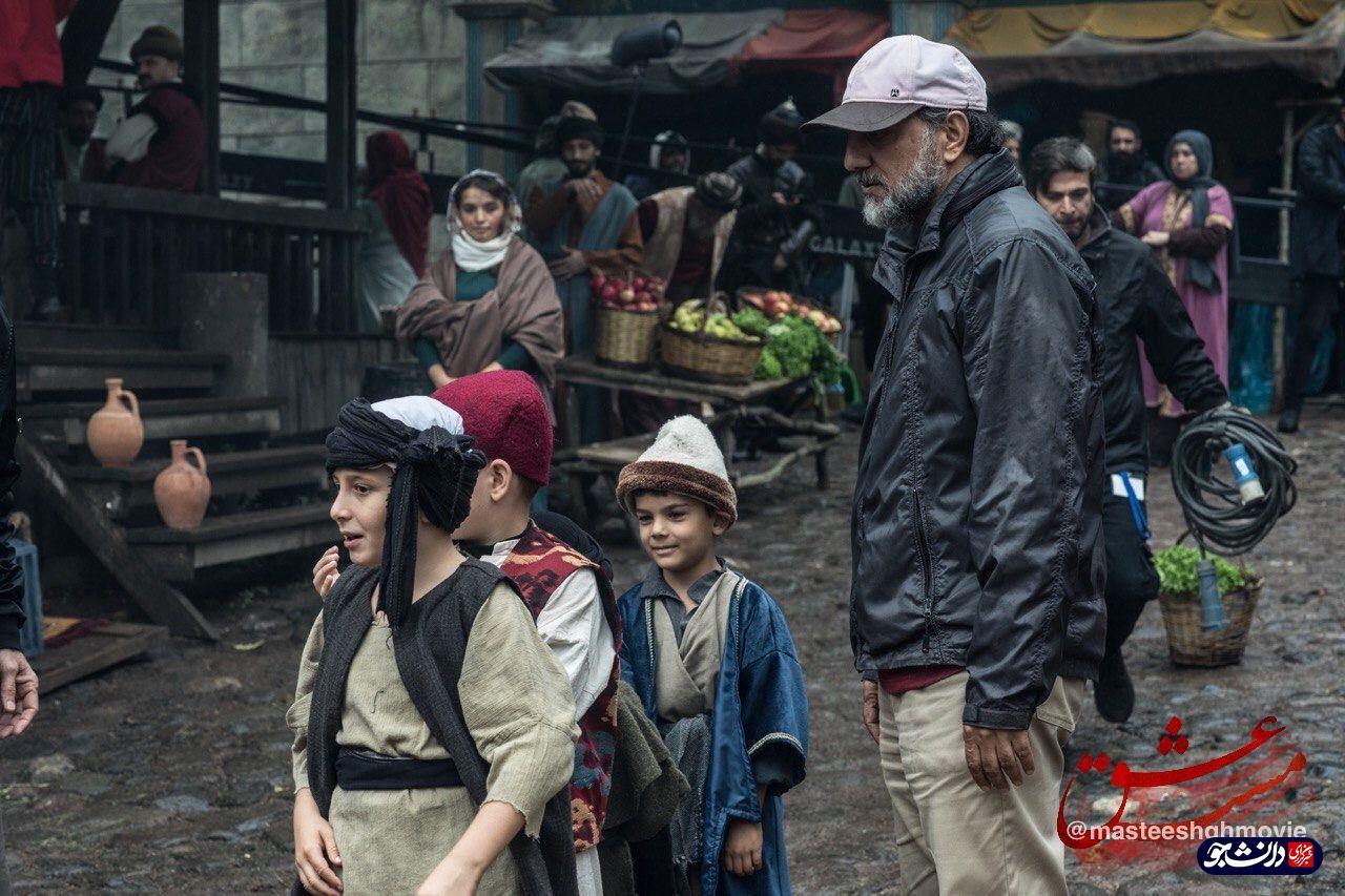 آخرین تصاویر از تولید فیلم زندگی «مولانا» در ترکیه