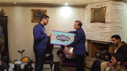دیدار اعضای بسیج دانشجویی دانشگاه تهران با مسعود سلیمانی +عکس