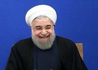 لبخند سوزناک روحانی!