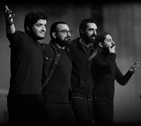 تالار وزارت کشور سکوی پرش جوان موفرفری موسیقی ایرانی