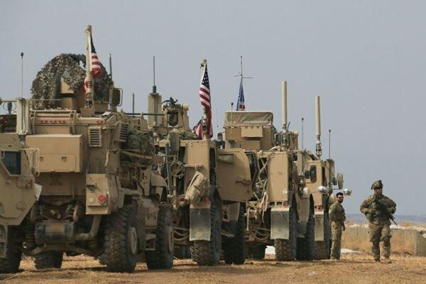 ورود تجهیزات نظامی و مواد لجستیک آمریکا به پایگاهی در فرودگاه خرابالجیر