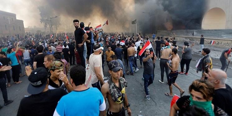اعتراضات در چند استان عراق
