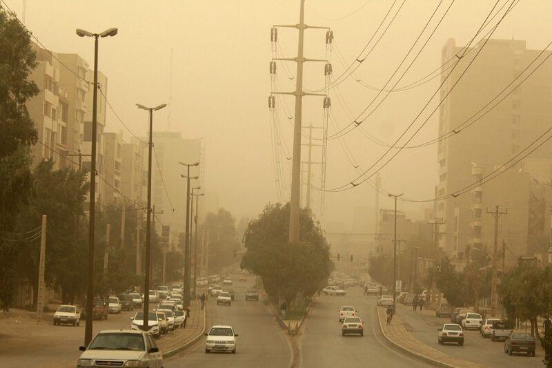 هشدار هواشناسی نسبت به خیزش گرد و خاک در 11 استان