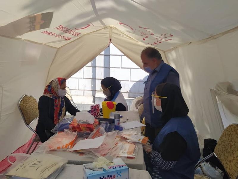 شهروندان رشتی در ایستگاه سلامت غربالگری شدند