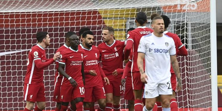 لیورپول 4-3 لیدز؛ صلاح، قرمزها را فراری داد