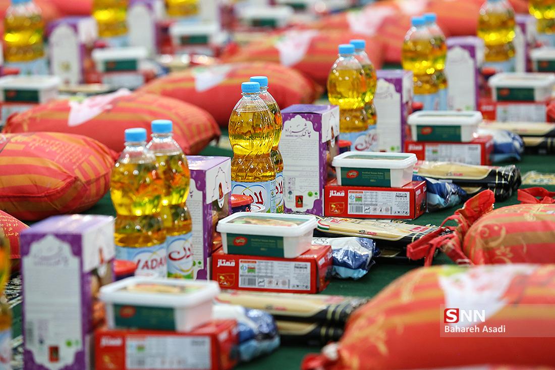 بستههای غذایی بین ۵۰ خانواده نیازمند حاشیه نشینان جنوب تهران توزیع شد