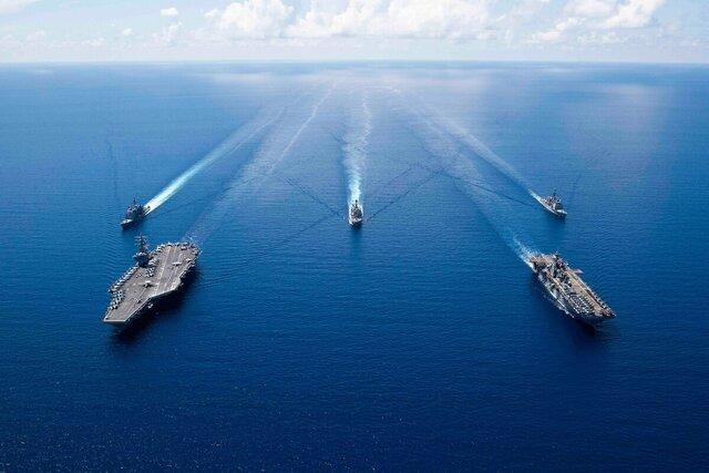 تمام بازیگران دریای جنوبی چین / دنیا در آستانه جنگ سرد جدیدی است؟