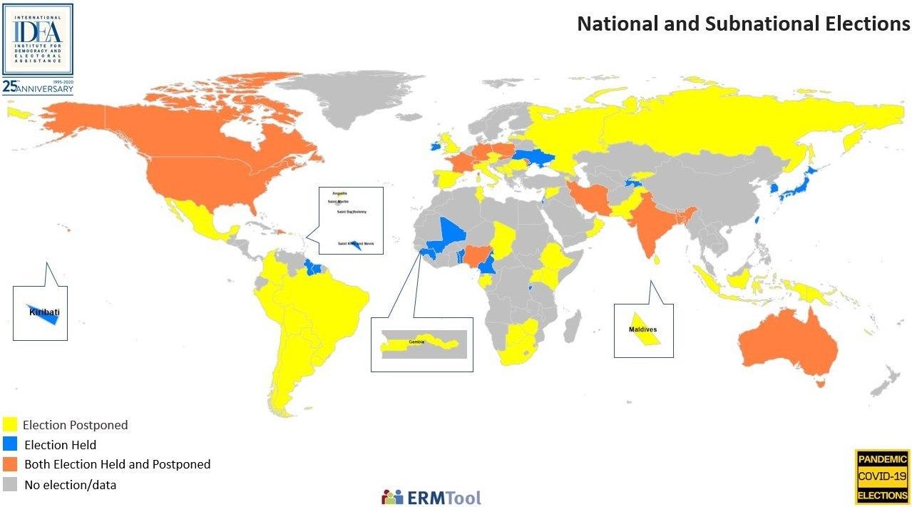 کرونا میزبان انتخابات آمریکا / آمریکا انتخابات خود را چگونه برگزار میکند؟