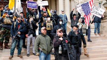ترامپیستها جنگ داخلی در آمریکا به راه میاندازند؟/ جنبش قسمخوردگان ترامپ به فکر آشوب مسلحانه!