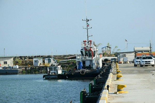 بندر آستارا به شبکه حمل و نقل کانتینری دریای خزر ملحق شد