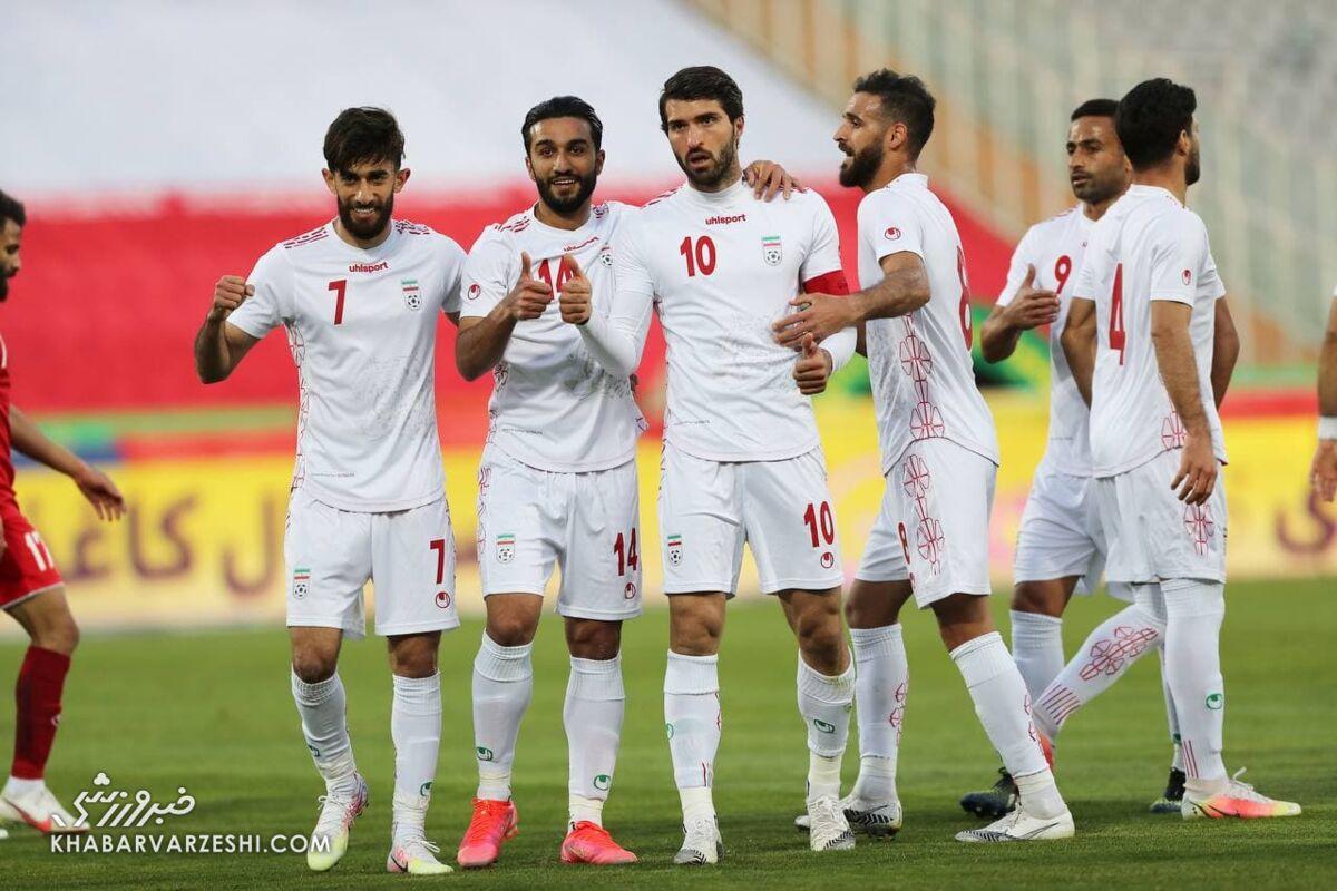 ایران به اندازه بحرین به سوریه گل زد