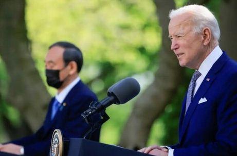بیانیه سران آمریکا و ژاپن درباره تنگه تایوان