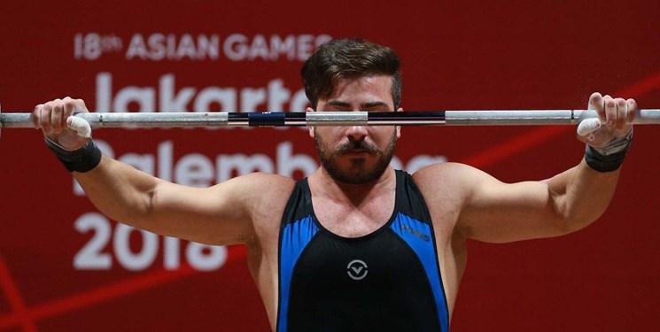 وزنهبرداری قهرمانی آسیا   رستمی طلایی شد ولی به المپیک نرسید