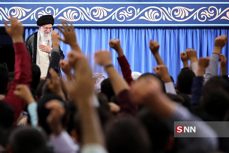 دیدار رمضانی دانشجویان با رهبر انقلاب آغاز شد