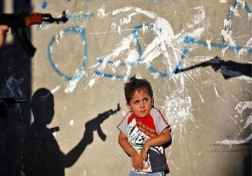 کشتار کودکان فلسطینی با تروریسم منظم!