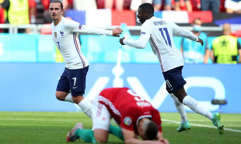 مجارستان 1 - 1 فرانسه، بازگشت نیمه تمام تیم دشان