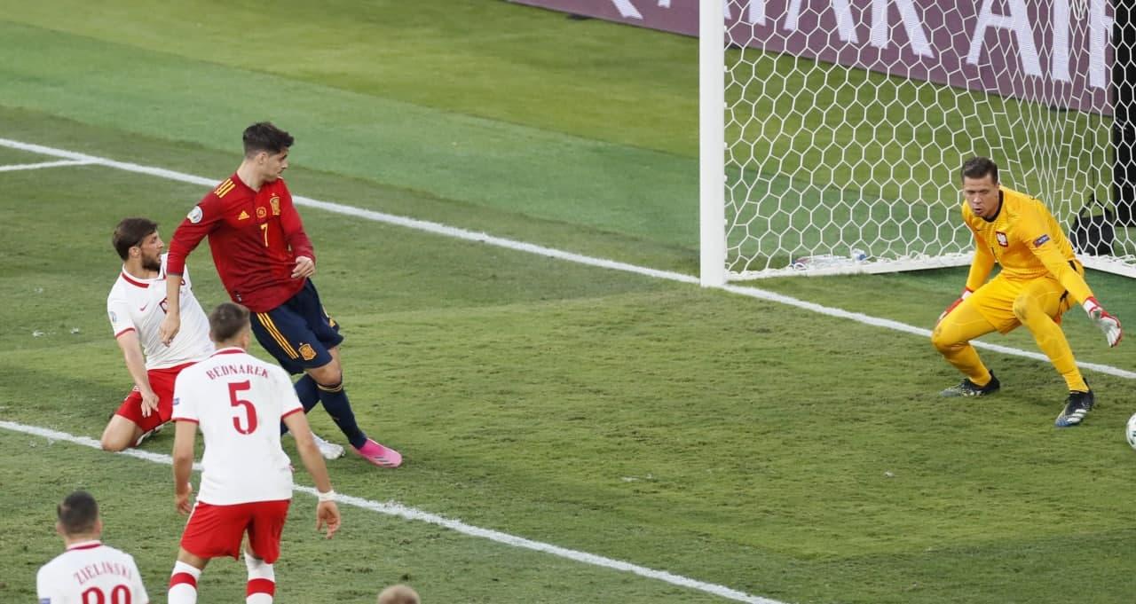 اسپانیا 1-1 لهستان: با موراتا به برد فکر نکن!