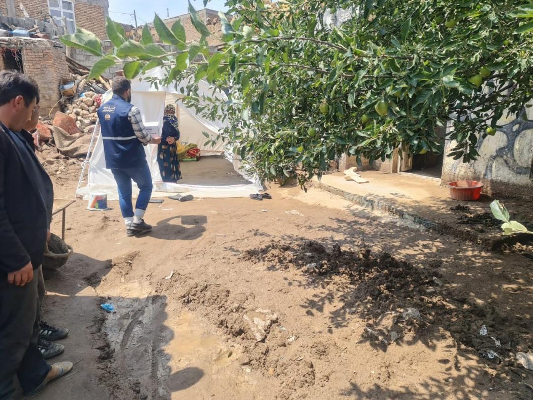 اعزام تیمهای امدادی و اقلام حمایتی ستاد اجرایی فرمان امام به مناطق سیلزده استان اردبیل