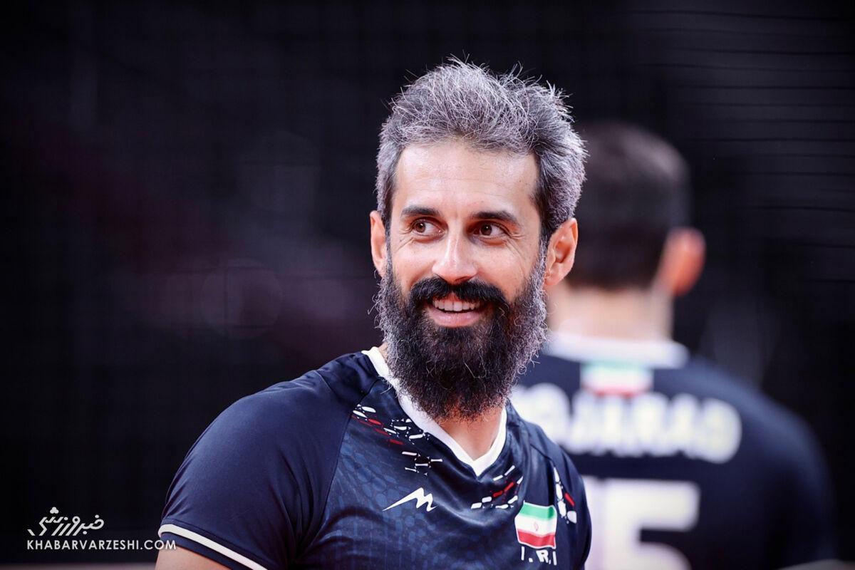 سعید معروف از تیم ملی والیبال خداحافظی کرد / کاپیتان دیگر پاس نمیدهد + عکس