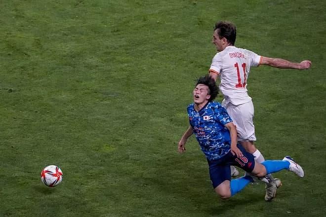 فوتبال المپیک؛ اسپانیا در فینال با سوپرگل آسنسیو