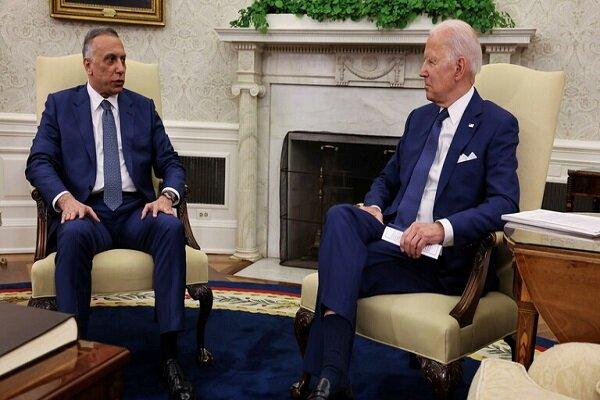 الکاظمی: نیروهای رزمی آمریکا تا پایان سال جاری از عراق خارج میشوند