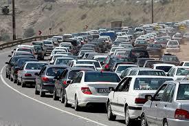 ترافیک سنگین جادههای هراز، چالوس و فیروزکوه / افزایش 6 درصدی تردد