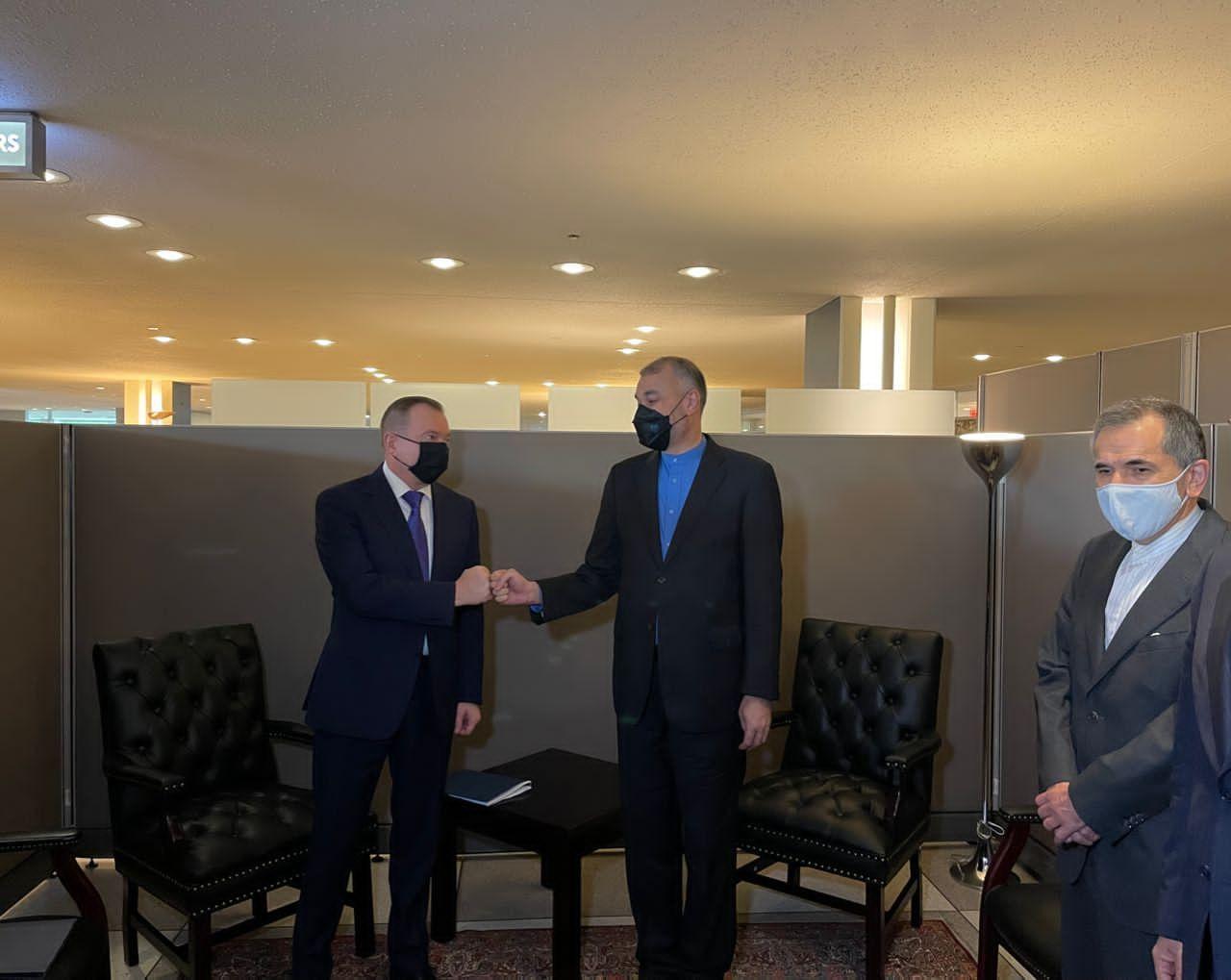 ملاقات وزرای خارجه ایران و بلاروس
