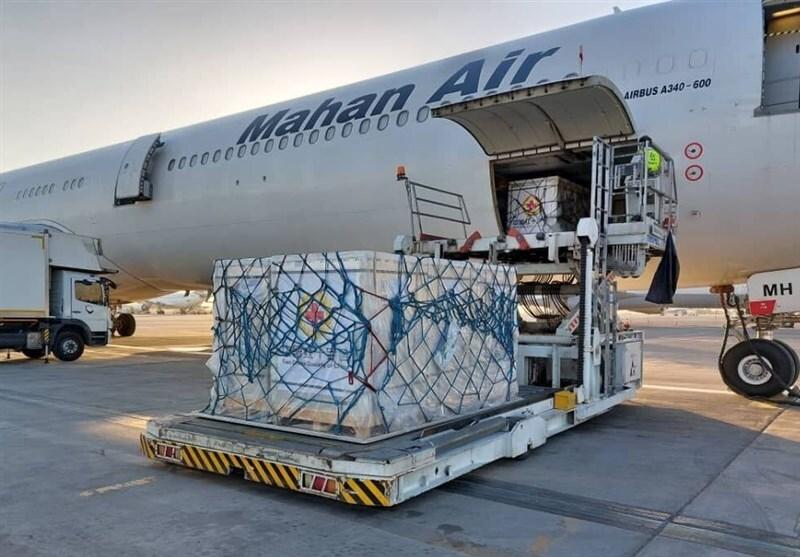 دومین محموله کمکهای جمعیت هلال احمر به افغانستان ارسال شد