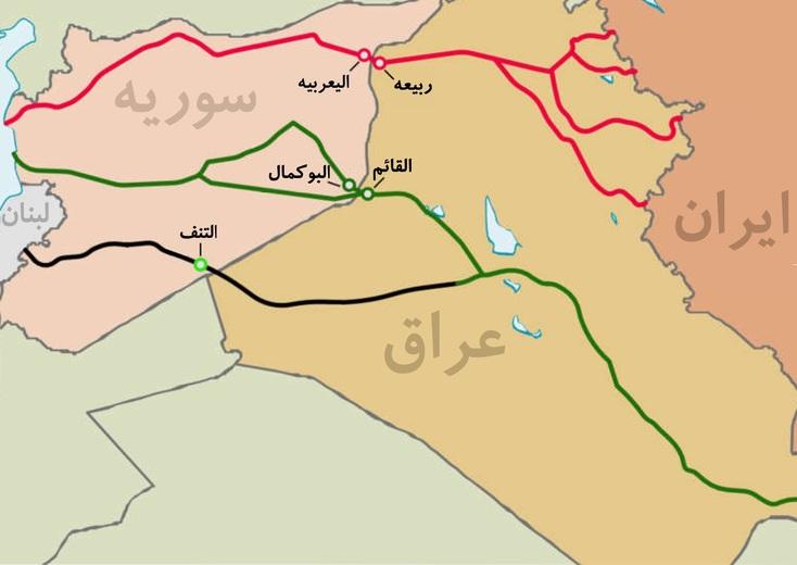 گذرگاه مرزی عراق و سوریه| کربدور زمینی تهران - مدیترانه